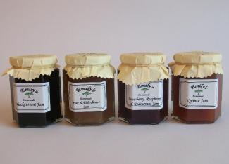 Emilys Jam and Pickles - Blackcurrant Jam