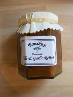 Emilys Jam and Pickles - Chilli & Garlic Relish